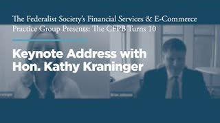 Hon. Kathy Kraninger Keynote Address