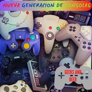 # geeks and beers -  Nueva generación de consolas