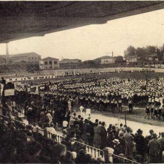 20 settembre 1928. Inaugura lo stadio comunale