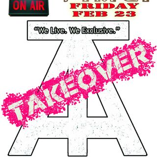 The TAKEOVER ft Agitate the Airwaves