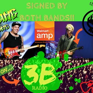 3B IS GIVING AWAY AN AUTOGRAPHED SUBLIME/OFFSPRING GUITAR!