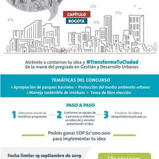 Concurso Ideópolis 2019: Capítulo Bogotá