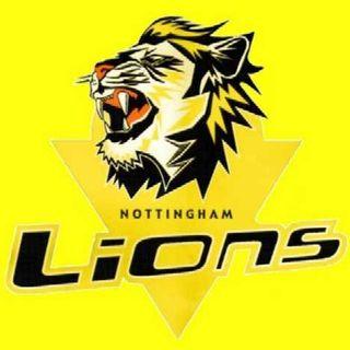 Nottingham Lions Coach Matt Bradbury post game