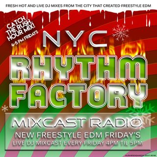 Freestyle Friday's 12-22-2017 Mixcast