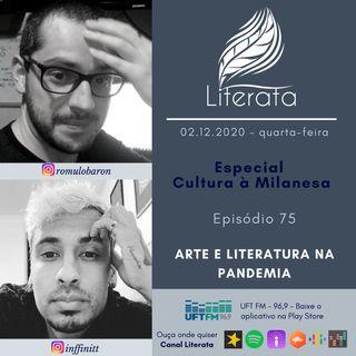 #075 - Especial CàM no Literata - Arte na Pandemia
