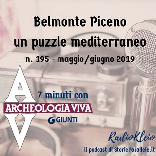 7 minuti su Belmonte Piceno