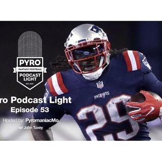 Pyro Light Fantasy Football Podcast – episode 53 – Week 11 – NFL 2016