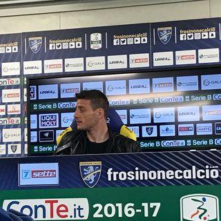 Conferenza stampa Daniel Ciofani settimana Ascoli Frosinone