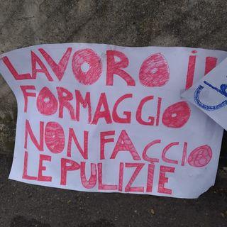 Tutto Qui - mercoledì 9 ottobre - Lo sciopero al caseificio Pezzana a Frossasco. Le ragioni dei lavoratori.