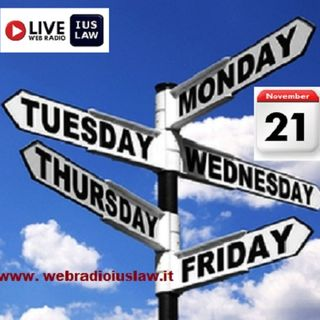 Lunedì, 21 Novembre 2016 - #SvegliatiAvvocatura Live!