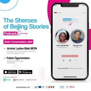 TSOB Podcast series; In Conversation with Amina Ladan-Baki MON and Fabia Ogunmekan