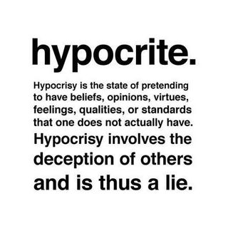Why Are There So Many Hypocrites?