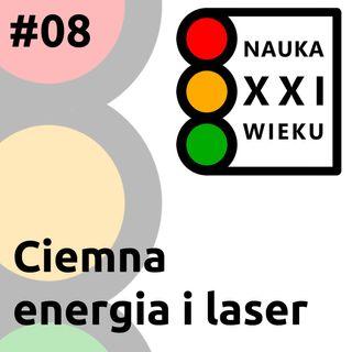 Ciemna energia i laser
