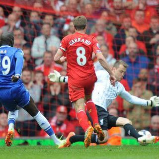 FOOTBALLER LOVE LETTERS: The Demba Ba 'Steven Gerrard Slip' Goal - Liverpool vs Chelsea
