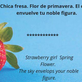 Chica fresa