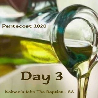 PENTECOST NOVENA - DAY 3