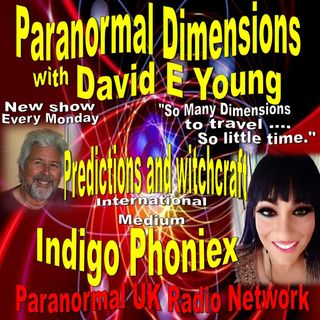 Paranormal Dimensions - Pyschic Medium Indigo Phoniex - 04/12/2021