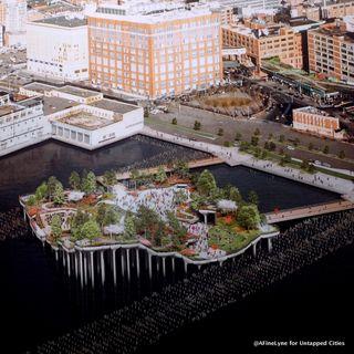 Pier 55: Un parque puesto en bandeja