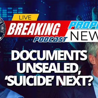 NTEB PROPHECY NEWS PODCAST: Unsealed Court Documents Place Bill Clinton On Orgy Island With Jeffrey Epstein, Ghislaine Maxwell Suicide Up Ne