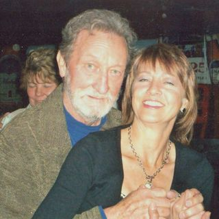 """Author Catherine Powers with Jake Brown pay tribute to Freddy Powers in """"The Spree of '83""""!"""