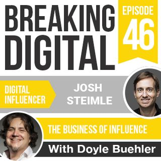 Josh Steimle - Digital Marketing Strategies & Personal Branding Expert