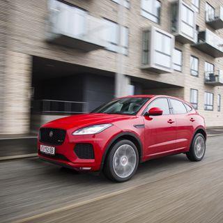 Mød Jaguars nye killing E-Pace og hør lidt SUV-filosofi sammen med Andreas Lang Hedegaard fra Biltorvet