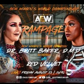 Episode 112 - The VSW First ever AEW Rampage in Pittsburgh recap