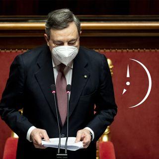 """""""Speriamo che ce la faccia"""" NON BASTA: Mario Draghi al Senato"""