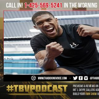 ☎️Anthony Joshua: I Have One Loss❗️I Won't Become a P***Y Overnight🔥