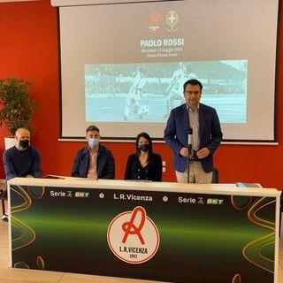 """Davanti al """"Menti"""" sorgerà Largo Paolo Rossi, ricordo perenne di Vicenza al campione"""