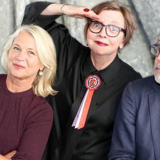 Helena von Zweigbergk, Jonathan Lindström och Maja Aase