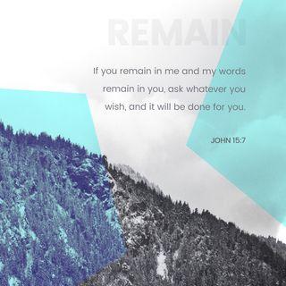 Episode 189: John 15:7 (July 9, 2018)