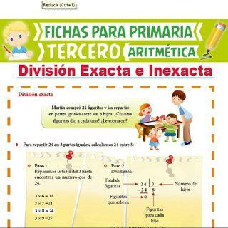 División Exacta e Inexacta ( Profesora Diana Vásquez 301 IE Villa de la Candelaria) - El podcast de Víctor Alfonso Pérez