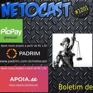 NETOCAST 1201 DE 07/10/2019 - BOLETIM DE DIREITO