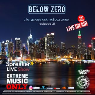 BELOW ZERO - THE YEAR'S END BELOW ZERO