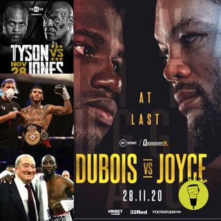 Dubois v Joyce Prediction show!! Tyson V Jones Jr
