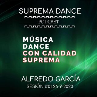 DJ Sesión |  Alfredo García | #01