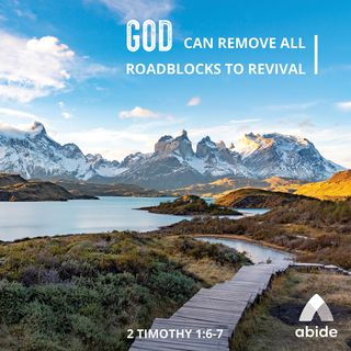 Removing Roadblocks to Revival