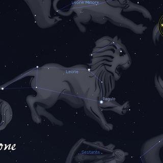 Costellazioni e segni Zodiacali - Leone