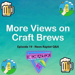 Episode 19 - Neon Raptor Q&A