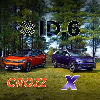 65. Volkswagen Reveals ID.6 CROZZ And ID.6 X | Shanghai Auto Show