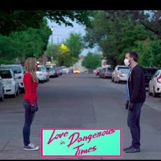 Ian Stout and Jessica Groben talk #LoveinDangerousTimes on #ConversationsLIVE ~ @octobergang @clintocoast #indiefilm #romcom