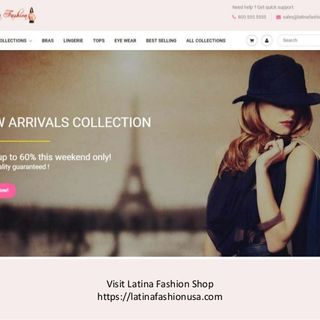 Latina Fashion USA Women Clothing Store For Bras, Lingerie and Tops