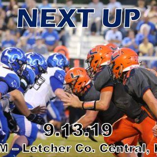 9/13/19 -  Union @ Letcher  Co. Central  HS