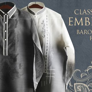 Buy Best Jusilyn Barong Taglong for Men at BarongRus