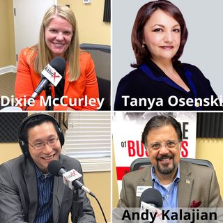 Andy Kalajian of Fort Leadership, Dixie McCurley with Cherry Bekaert, Tanya Osensky of Osensky Law LLC