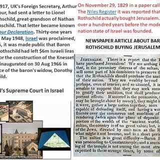 Is todays Israel, God's Israel? pt. 1