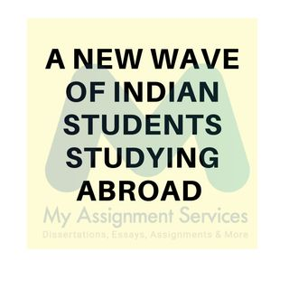 A New Wave of Indian Students Studying Abroad