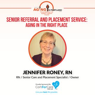 2/18/17: Jennifer Roney, RN with All about Seniors, Inc.   Senior Referral and Placement Service: Aging in the Right Place