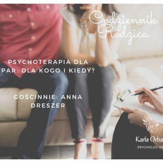 Psychoterapia dla par - dla kogo i kiedy?